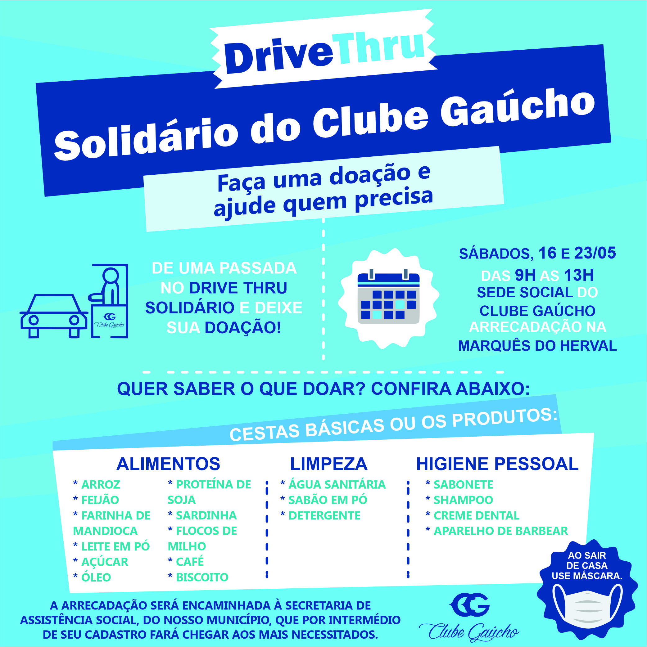 Drive Thru Solidário do CG
