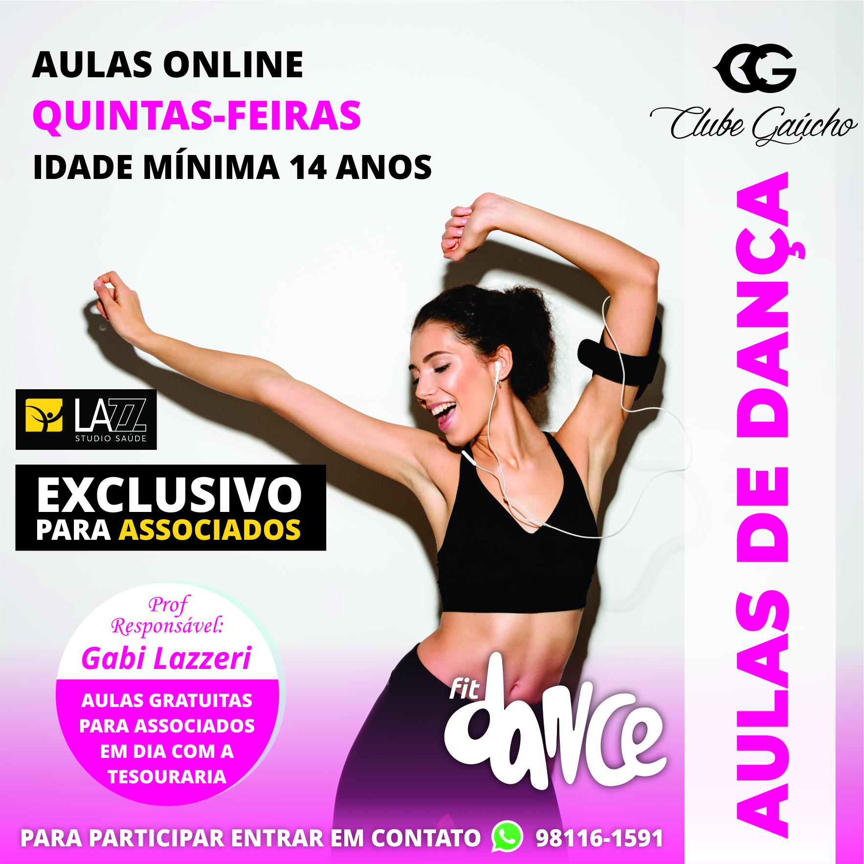 Aulas de Dança Online