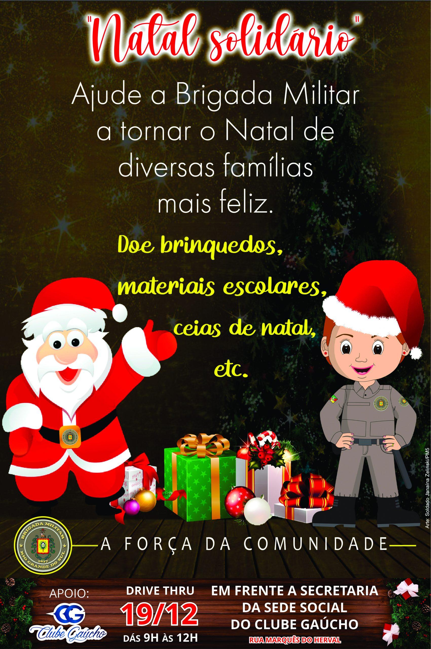 Drive Thru Natal Solidário!